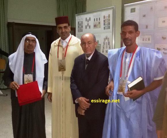المشارك باسم موريتانيا في معرض أكادير الدولي للطوابع البريدية عبد اللطيف سيد محمد (السراج)