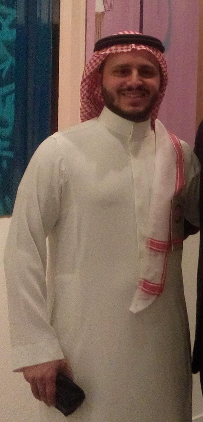الفنان السعودي - طلال الزيد.