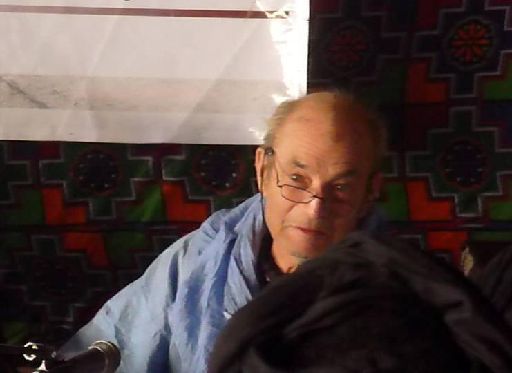 الباحث الفرنسي في ثقافة وموسيقى مجتمع البيظان (بموريتانيا) ميشيل غينيار (السراج)