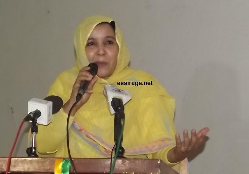 الشاعرة الصحراوية النانة لبات الرشيد (السراج)