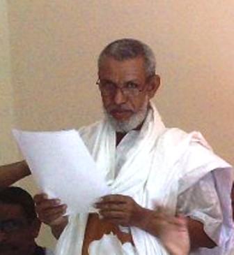 بقلم الإمام سعدن ولد جدو