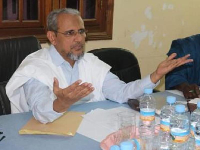 الرئيس محمد محمود ولد سيدي