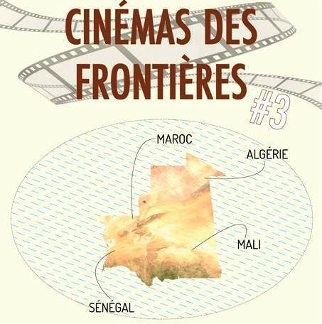 شعار مهرجان سينما الحدود الذي ينظم بالتعاون بين دار السينامائيين والمعهد الفرنسي في موريتانيا بين يومي الجمعة 15والسبت 16 إبريل 2016 (السراج)