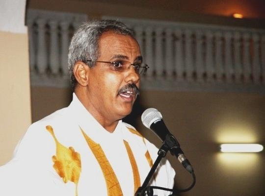 السفير الموريتاني في جمهورية النيجر شيخنا ولد النني (أرشيف - السراج)