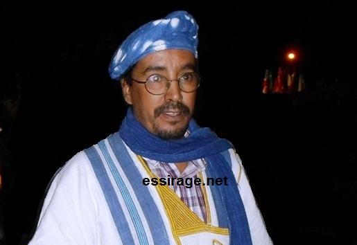 رئيس دار السينمائيين الموريتانيين عبد الرحمن أحمد سالم (أرشيف - السراج)
