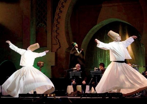 جانب من أحد عروض مهرجان الموسيقى العريقة في النسخة العشرين (السراج)
