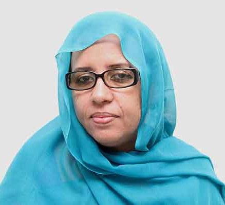 وزيرة الثقافة والصناعة التقليدية الموريتانية هند بنت عينينا (السراج)