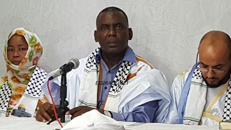 بيرام خلال مؤتمر الصحفي