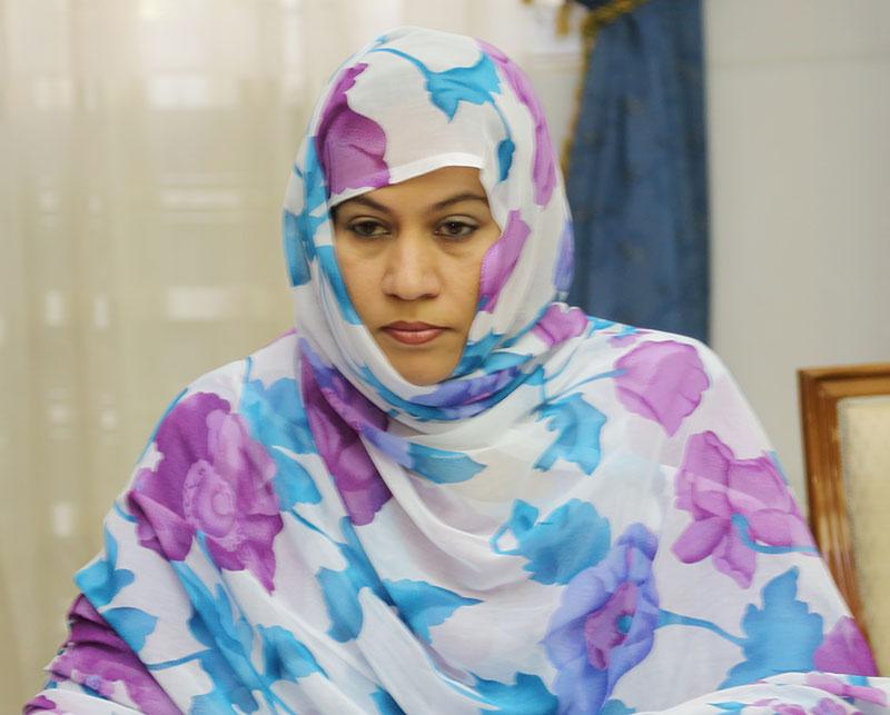 وزيرة التجارة الموريتانية