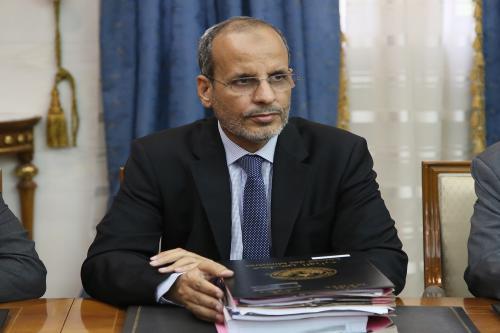 محمد ماء العينين ولد أييه: وزير التعليم الثانوي والتكوين الفني والمهني