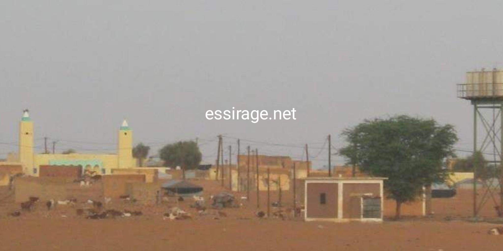 صورة من قرية آجوير تنهمد