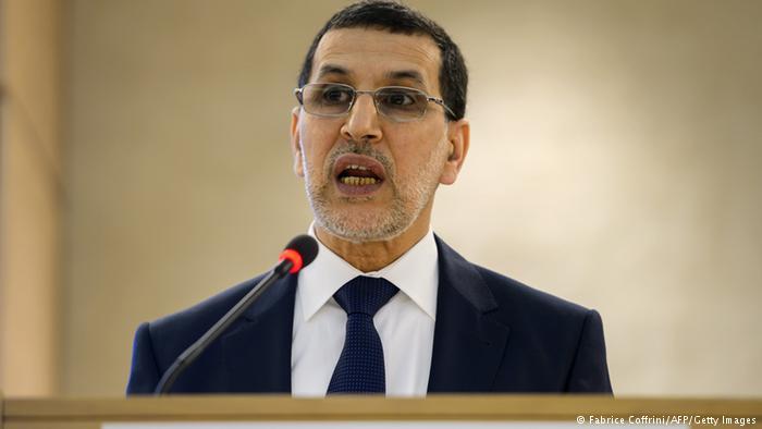 سعد الدين العثماني: رئيس الحكومة المغربية.