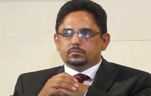 الناطق باسم الحكومة الموريتانية محمد الأمين ولد الشيخ.