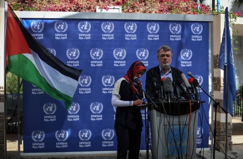 مدير الأونوروا فى غزة
