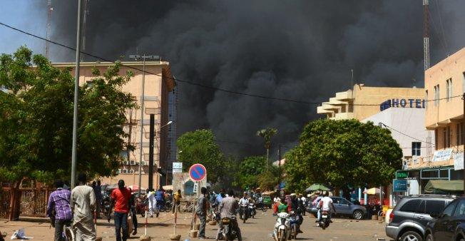صورة من الانفجارات   (فرانس 24 )
