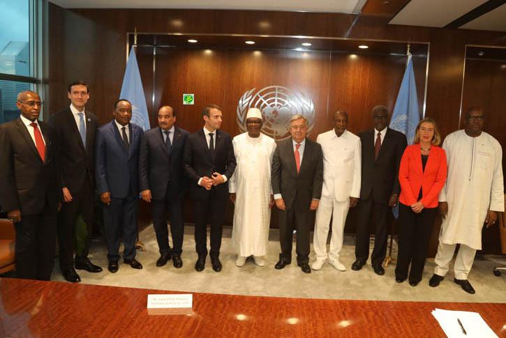 اجتماع على هامش دورة الأمم المتحدة الأخيرة حول القوة المشتركة للساحل