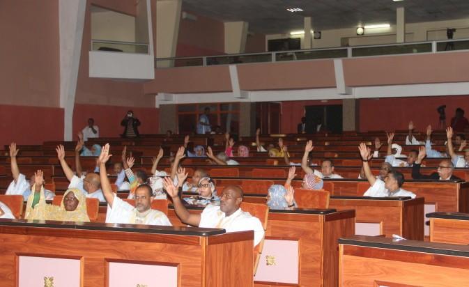 صورة من التصويت