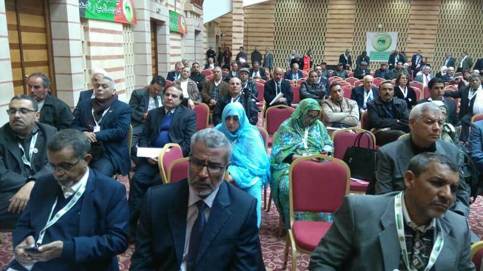 بعض رؤساء الأحزاب خلال المؤتمر