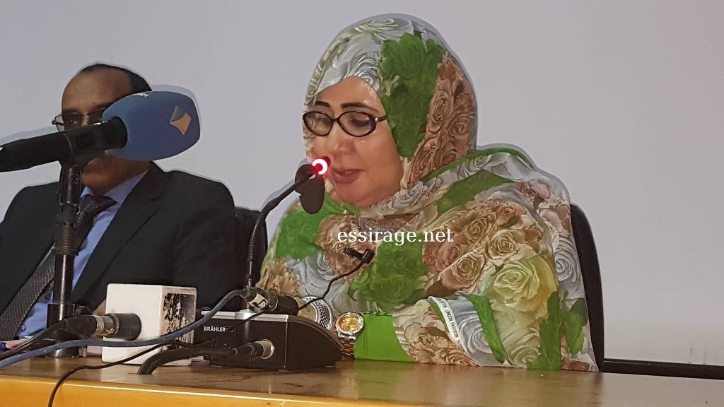 رئيس مركز الهدف السيدة مريم منت امود