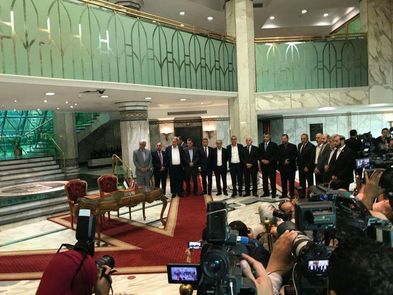 خلال توقيع القاهرة بالقاهرة