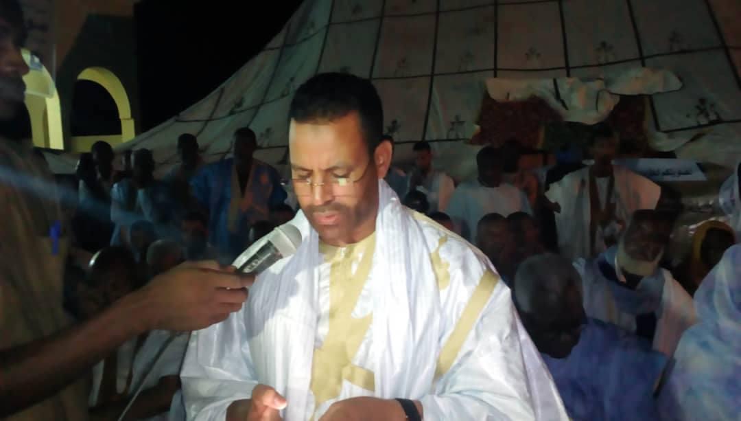 الشيخ محمد خلال كلمته