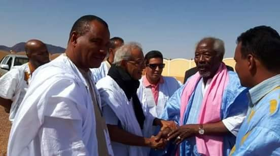 خلال لقاء الرئيسين مسعود وأحمد
