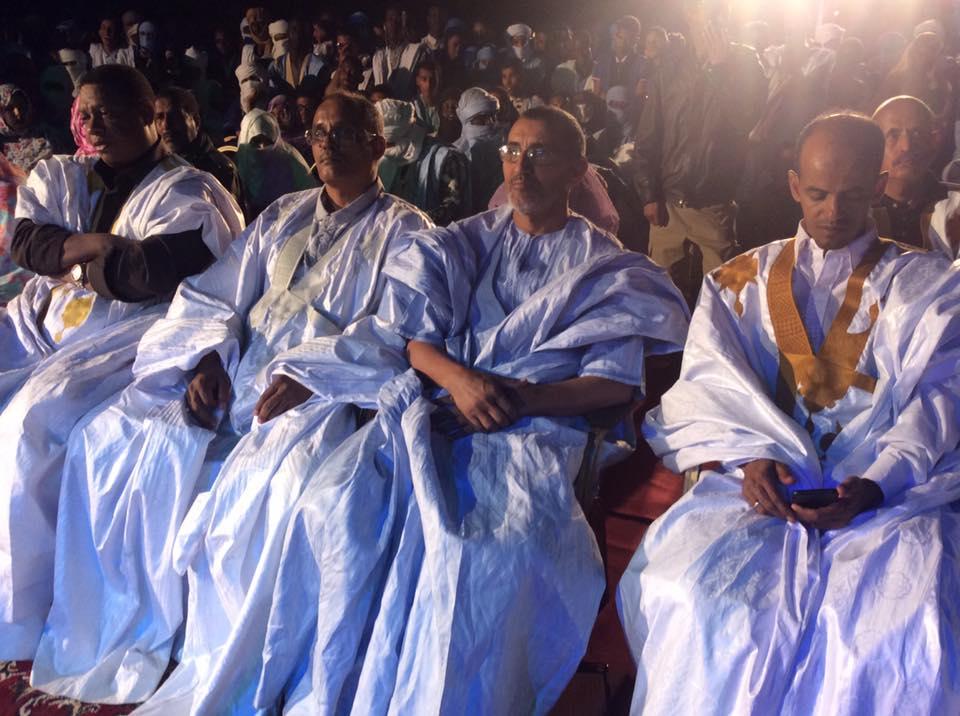 العمدة خلال حضوره افتتاح المهرجان