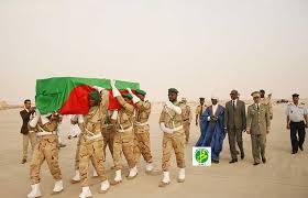 جثمان جندي موريتاني سابق قتل هناك