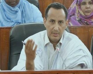 عضو مجلس الشيوخ محمد ولد غده