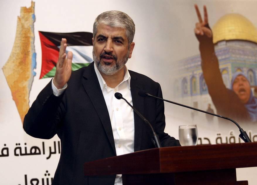 خالد مشعل رئيس المكتب السياسي سابقا
