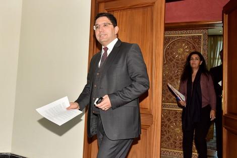 وزير الشؤون الخارجية والتعاون الدولي المغربي ناصر بوريطة.