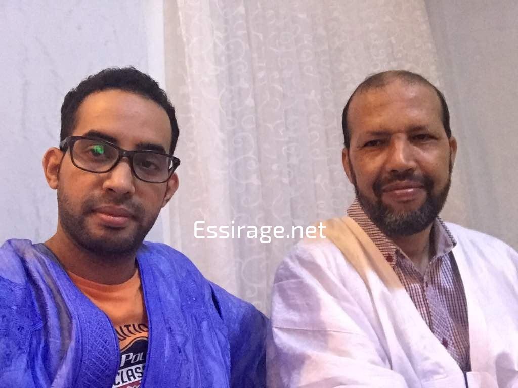 محمد غلام مع سيداحمد ولد غده