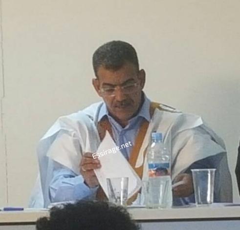 الدكتور عبد الصمد ولد امبارك