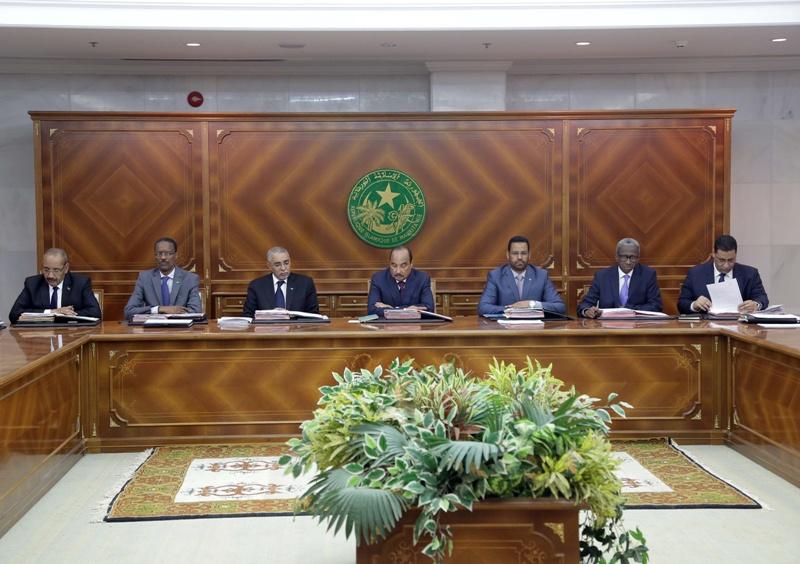 صورة لاجتماع مجلس الوزراء