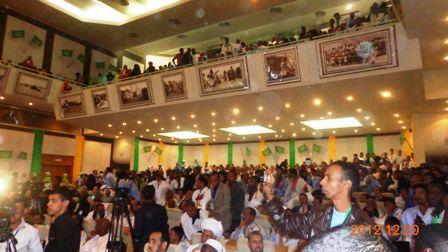 صورة من المؤتمر الثاني لحزب تواصل