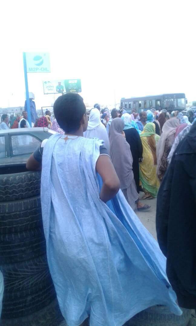 قبل انطلاق مسيرة النساء