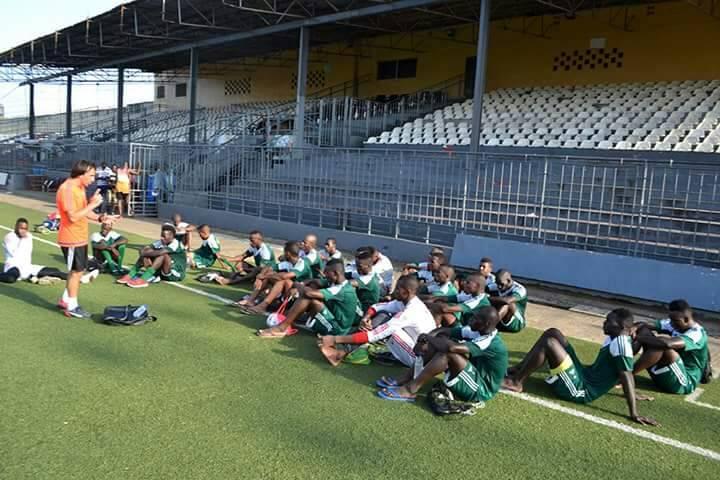 ... منتخب ليبيريا، في مدينة منروفيا، لحساب الدور الأول من التصفيات المؤهلة  لكأس إفريقيا للاعبين المحليين، التي من المقرر أن تستضيف دولة كينيا  نهائياتها مطلع ...