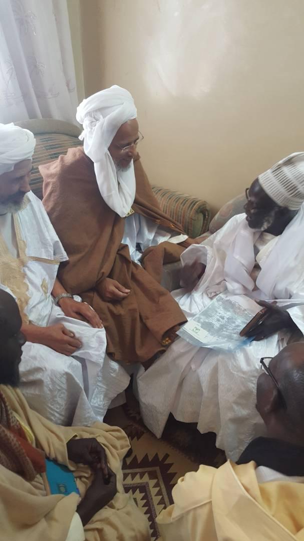 المختار ولد محمد موسي مع الخليفة الجديد