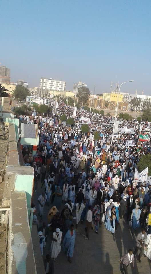 صورة من المسيرة