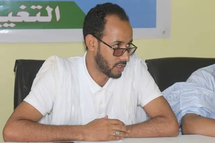 أحمدو ولد ابيه ناشط شبابي