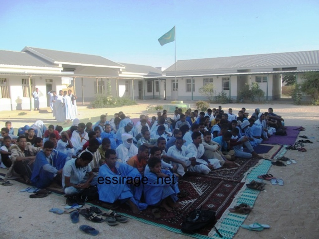مشاركون في المخيم