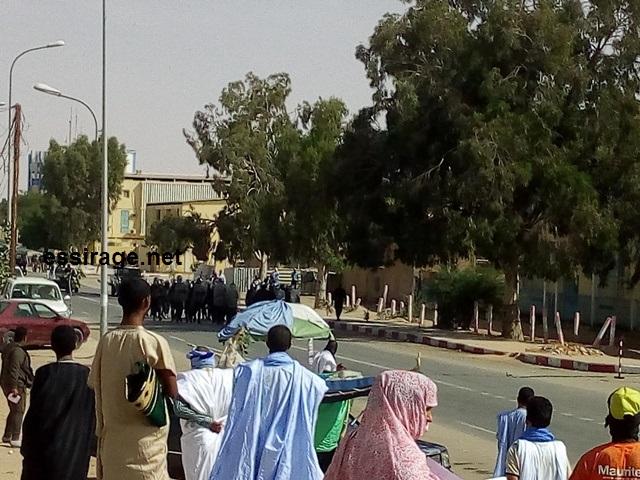 صورة من مظاهرات اليوم