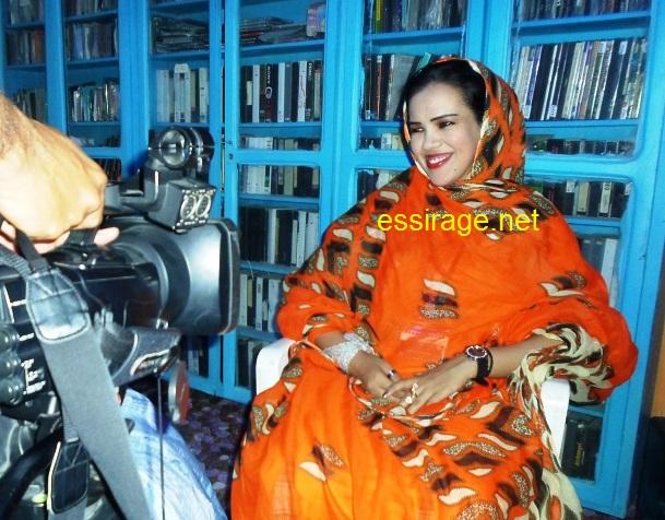 المخرجة الموريتانية مي مصطفى (أرشيف - السراج)