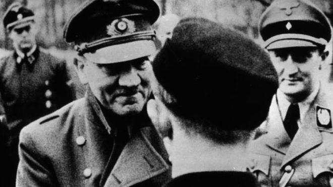آخر صورة تلتقط من آدولف هتلر