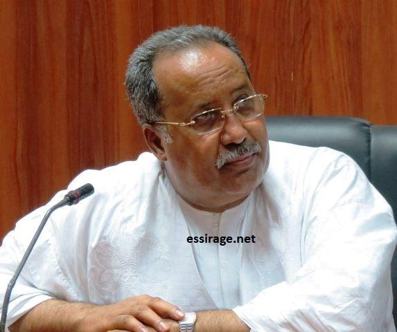 أحمد ولد حمزة رئيس الجمعية الموريتانية للفرانكفونية (أرشيف - السراج)