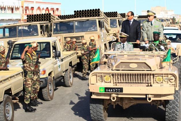 موريتانيا تشارك بمناورات عسكرية ضد الإرهاب