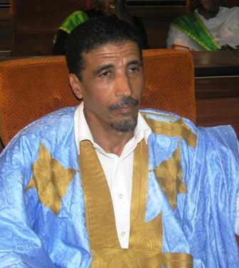 رئيس المنتدي محمد ولد مولود