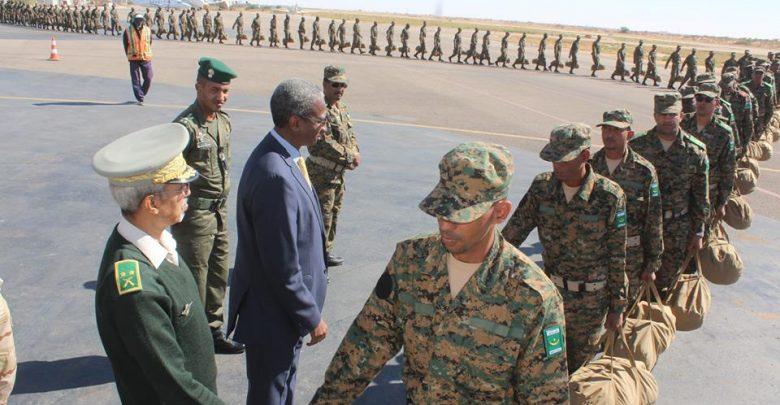 وحدة من الجيش تغادر إلى وسط إفريقيا