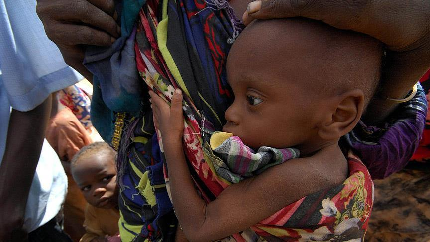 """""""يونيسيف"""": 75 ألف طفل نيجيري مهددون بالموت جوعا"""