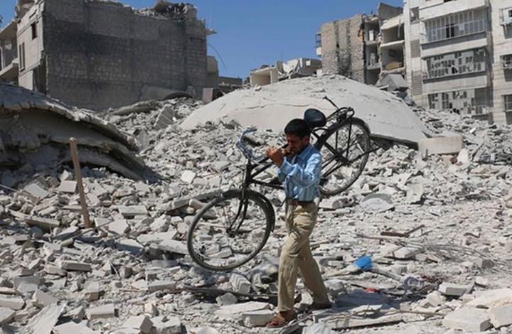 """اتحاد علماء المسلمين يدعو إلى """"غضبة عالمية"""" لأجل حلب الجمعة"""